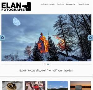 Elan Homepage