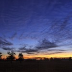 Blaue Stunde am Fohlenhof