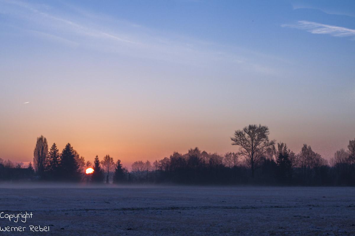 Morgens um 7