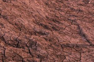 Bodenstrukturen deuten ebenfalls auf das Vorhandensein von Flüssigkeit hin.
